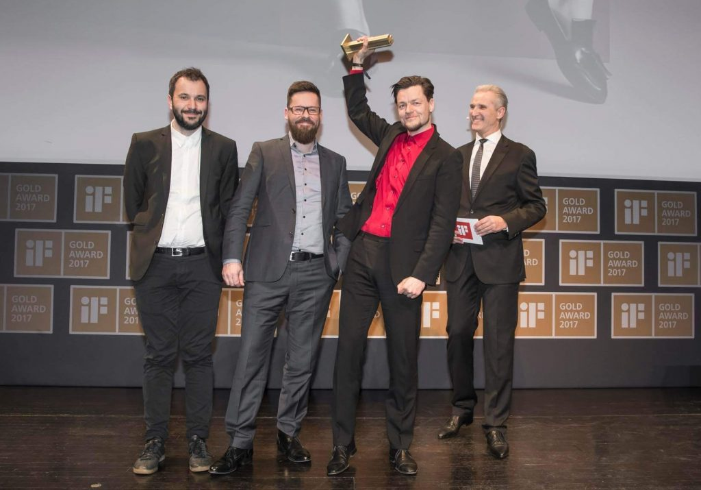 design-people vinder IF GOLD AWARD