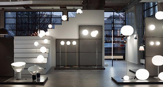 OeO Studio redesigner Flos Scandinavia Copenhagen Showroom