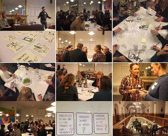 Designfaglige indsigter fra medlemsevent på Christiansborg