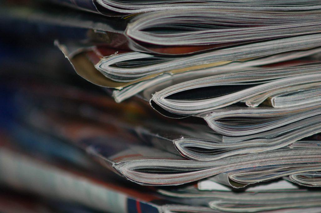 Artikler og interviews